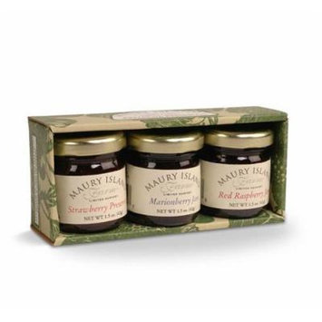 Minature Tray Pack Maury Island Farms (Three 1.5 oz Jars) Jams and Preserves