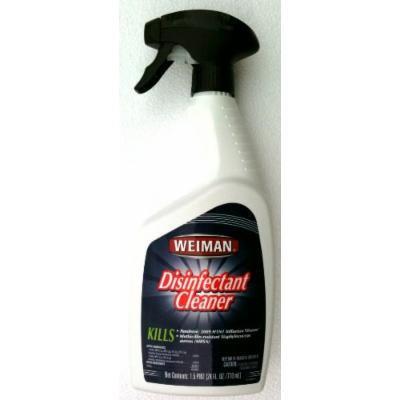 WEIMAN Disinfectant Cleaner KILLS H1N1 FLU VIRUS & More 24 oz. Pump Spray