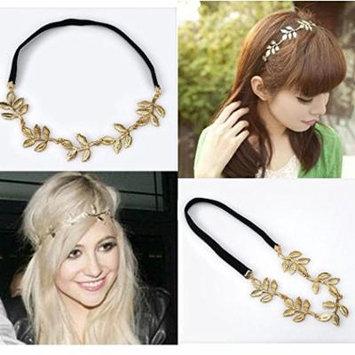 CAETLE® Lovely Metallic Sweet Lady Hollow leaf Flower Elastic Hair Band Headband