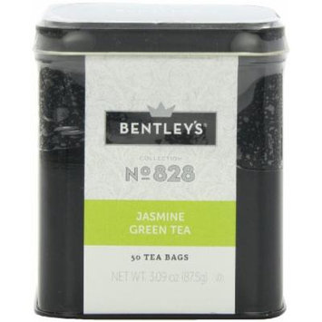 Bentley's Harmony Collection Tin, Jasmine Green Tea, 50 Count