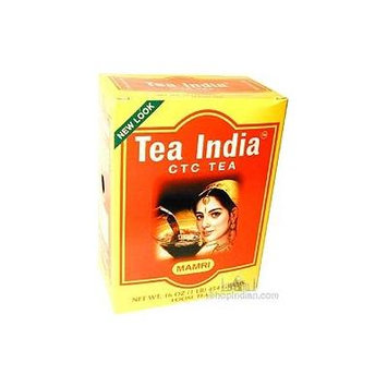 Tea India CTC Leaf Tea 16 Oz
