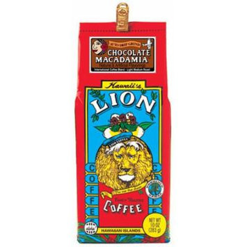 Hawaiian Value Pack Lion Coffee Ground Chocolate Macadamia 4 Bags
