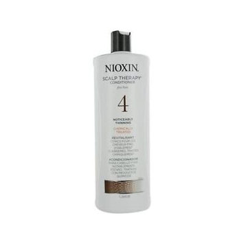 Nioxin Scalp Therapy Conditioner Fine Hair 4 Noticeably Thinning Chemically Treated Revitalisant 33.8oz