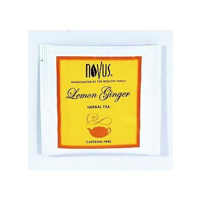 Novus® Lemon Ginger Herbal Tea (box of 50)