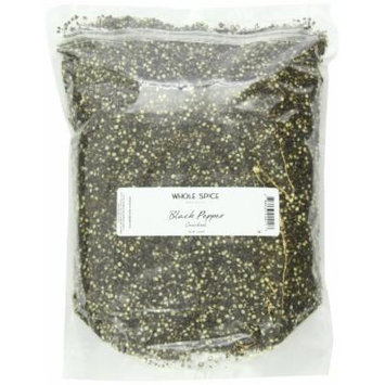 Whole Spice Pepper Black Cracked, 5 Pound