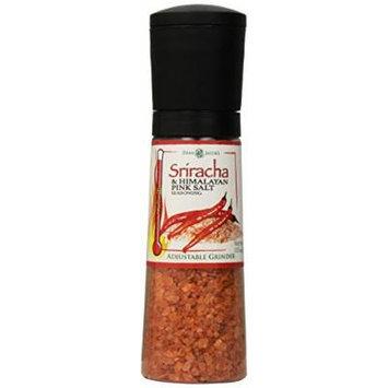 Dean Jacobs Jumbo Grinder, Sriracha and Himalayan Pink Salt Seasoning, 13.5 Ounce