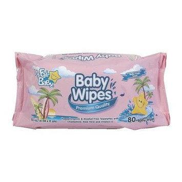 My Fair Baby Premium Baby Wipes Pink - 80 Ct (Pack Of 12)