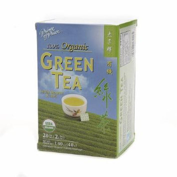 Prince of Peace 100% Organic Tea, Green Tea 20 bags