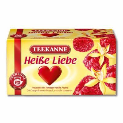 3x Teekanne Heiße Liebe (each box 20 tea bags)