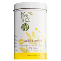 Palais des Thés Secret Garden Herbal Tea, 3.5oz Metal Tin