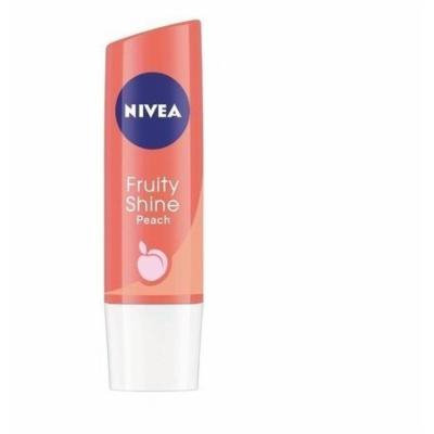 Nivea Lip Balm - Fruity Shine PEACH -Pack of 1