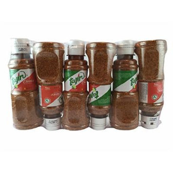 Tajin Clasico Fruit Seasoning with Lime, 5oz Bottle (Pack of 6)