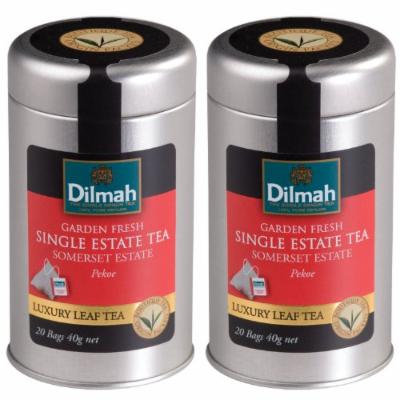 Dilmah, Single Estate, Elevation Teas, 4600 ft. Somerset Estate, 20-count Tea Bags (Pack of 2)