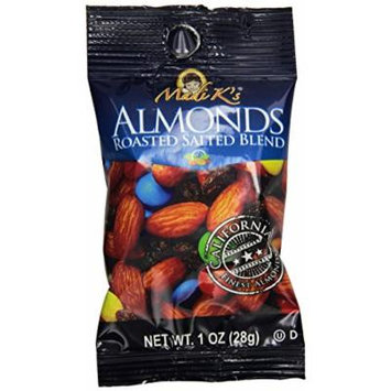 Madi K's Roasted Almond Blend, 1-Ounce Bags (Pack of 48)