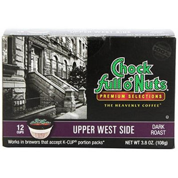 Chock Full o'Nuts Upper West Side Coffee K-Cups 12 Ct - Pack Of 2