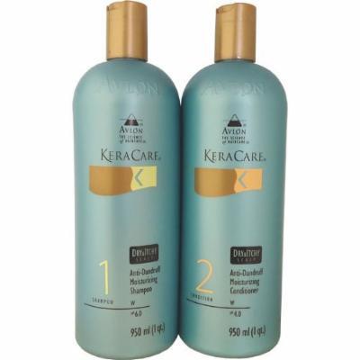 KeraCare Dry & Itchy Conditioner 950 ml & KeraCare Dry & Itchy Scalp Moisturizing Shampoo 950 ml Combo Set
