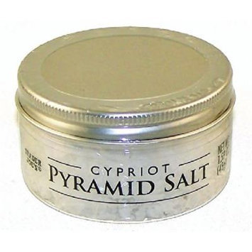 Trader Joe's Cypriot Pyramid Salt - Sea Salt (Pack of 4)