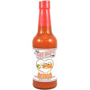 Marie Sharp's Hot Habanero Sauce 10 Oz. (Pack of 6)