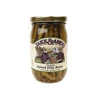 Jake & Amos Spiced Dilly Beans - 16 Ounce