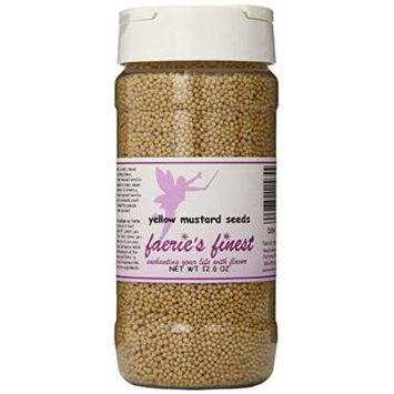 Faeries Finest Mustard Seeds, 12.0 Ounce