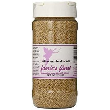 Faeries Finest Mustard Seeds, 12.0 Ounce