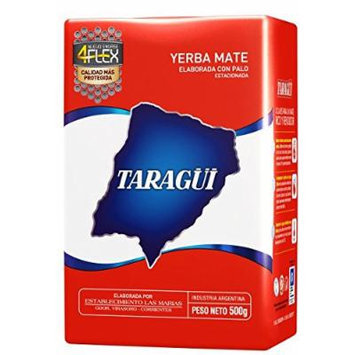 Yerba Mate Taragui Vitality,Orange,Liviana,Citricos Del Litoral,Regular Blend,Loose Leaf 1.17 Lbs/500 G (2 Pack) (REGULAR BLEND)