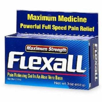 Flexall Maximum Strength Pain Relief Gel, 3 Count