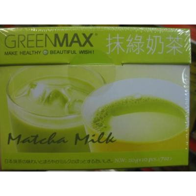 Greenmax -Matcha Milk (Instant Green Milk Tea) z (Pack of 1)
