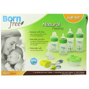Born Free BPA-Free Decorated Bottle Gift Set by Born Free
