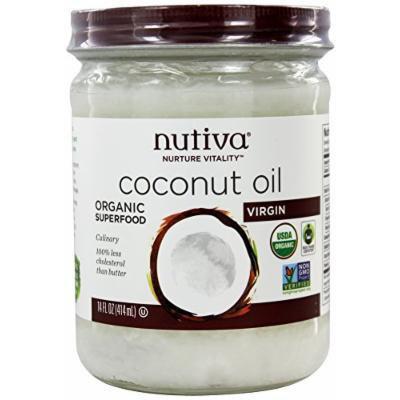 Nutiva - Coconut Oil Organic Virgin - 14 oz