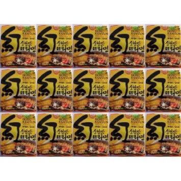 Ohsung Hong Ramyun/ramen Mild Taste Noodle Soup with Soy Peptide 4.2 Oz: 15 Pack