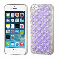 MyBat iPhone 5S/5 Desire Back Protector Cover - Retail Packaging - Purple