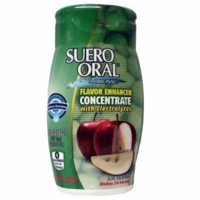 SUERO ORAL ELECTROLYTE CONCENTRATE SQUEEZE BOTTLE - APPLE ZERO CALORIES