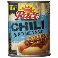 Pace Chili, No Beans, 14.5 Ounce (Pack of 12)