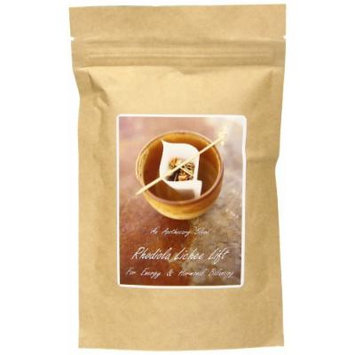 The Healing Tree Apothecary Blend Rhodiola Lichee Lift, For Energy & Hormonal Balancing, Loose Leaf Blend Tea, 2 Ounce Bag