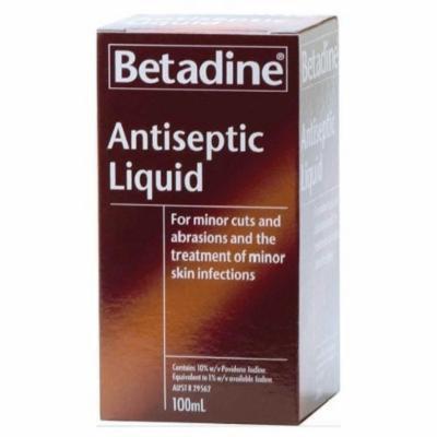 Betadine Antiseptic Liquid 100mL