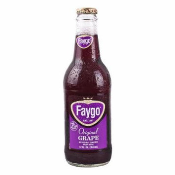 Frostie Concord Grape Soda, 12 Oz Glass Bottle (Pack of 12)