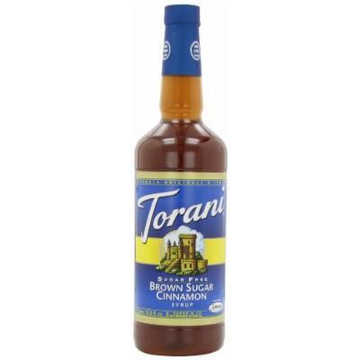 Torani Sugar Free Syrup, Brown Sugar Cinnamon, 33.8 Ounce (Pack of 3)