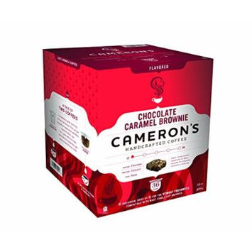 Cameron's Coffees, Chocolate Caramel Brownie, 36 Count