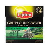 Lipton® Green Tea - Green Gunpowder - Premium Pyramid Tea Bags