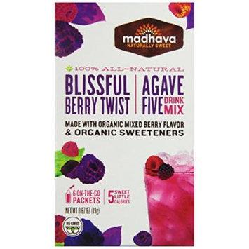 MADHAVA , DRINK MIX-BERRY TWIST(Organic) 0.66OZ[1PACK]