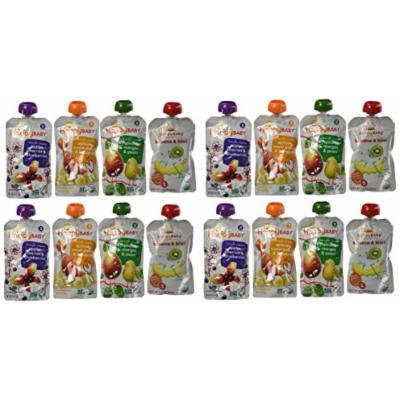 Happy Baby Organic Baby Food, 3.5 oz, 16 Count