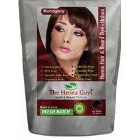 Henna Hair & Beard Dye - 100% Natural & Chemical Free - The Henna Guys® (2 Pack, Mahogany)