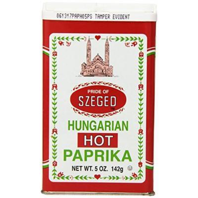 Sahadi Paprika, Hot Hungary, 5 Ounce