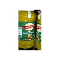 Supremo Italiano: Hot Banana Pepper Rings 1 Gallon (2 Pack)