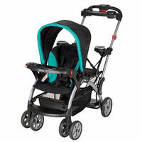 Premium Baby Strollers for Twins Stroller Two Kids Double Tandem Accommodates Infant Car Seat Sit and Stand