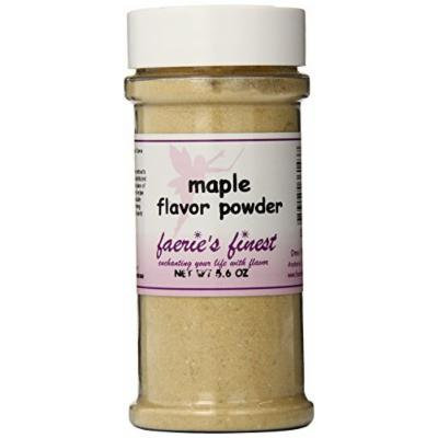 Faeries Finest Flavor Powder, Maple, 5.60 Ounce