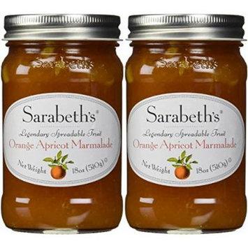Sarabeth's Kitchen Sarabeth's Orange Apricot Marmalade, 18 oz (Pack of 2)