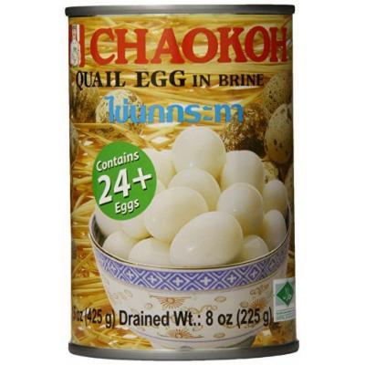 Chaokoh Quail Eggs, 15 Ounce (Pack of 6)