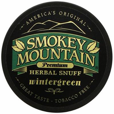 Smokey Mountain Snuff 10 Can Box (Wintergreen)